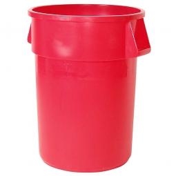 Mehrzweckbehälter, Inhalt 167 Liter, rot, ØxH 610x800 mm, Polyethylen-Kunststoff (PE), FG264300RED
