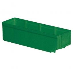 Regalkasten, grün, LxBxH 300x93x83 mm, Polystyrol-Kunststoff (PS), Gewicht 175 g