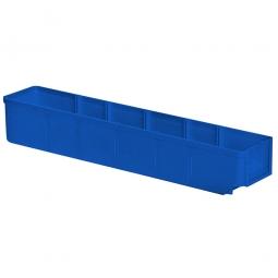 Regalkasten, blau, LxBxH 500x93x83 mm, Polystyrol-Kunststoff (PS), Gewicht 285 g