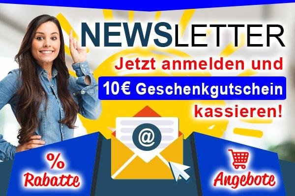 Jetzt zum Newsletter anmelden!