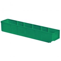 Regalkasten, grün, LxBxH 500x93x83 mm, Polystyrol-Kunststoff (PS), Gewicht 285 g