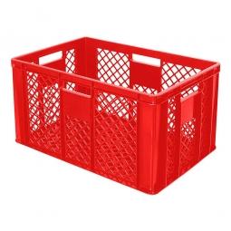 Stapelbehälter, LxBxH 600x400x320 mm, rot