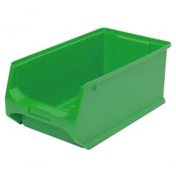 Sichtbox PROFI LB3, grün, Inhalt 7,6 Liter., LxBxH 350x200x150 mm, innen 295x175x140 mm.