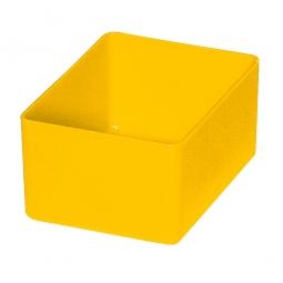 Einsatzkasten für Schubladen, gelb
