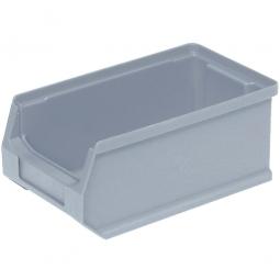 Sichtbox PROFI LB5, grau, Inhalt 0,85 Liter., LxBxH 175x100x75 mm, innen 145x85x65 mm.