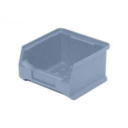 Sichtbox PROFI LB6, grau, Inhalt 0,3 Liter., LxBxH 100x100x60 mm, innen 75x85x55 mm.