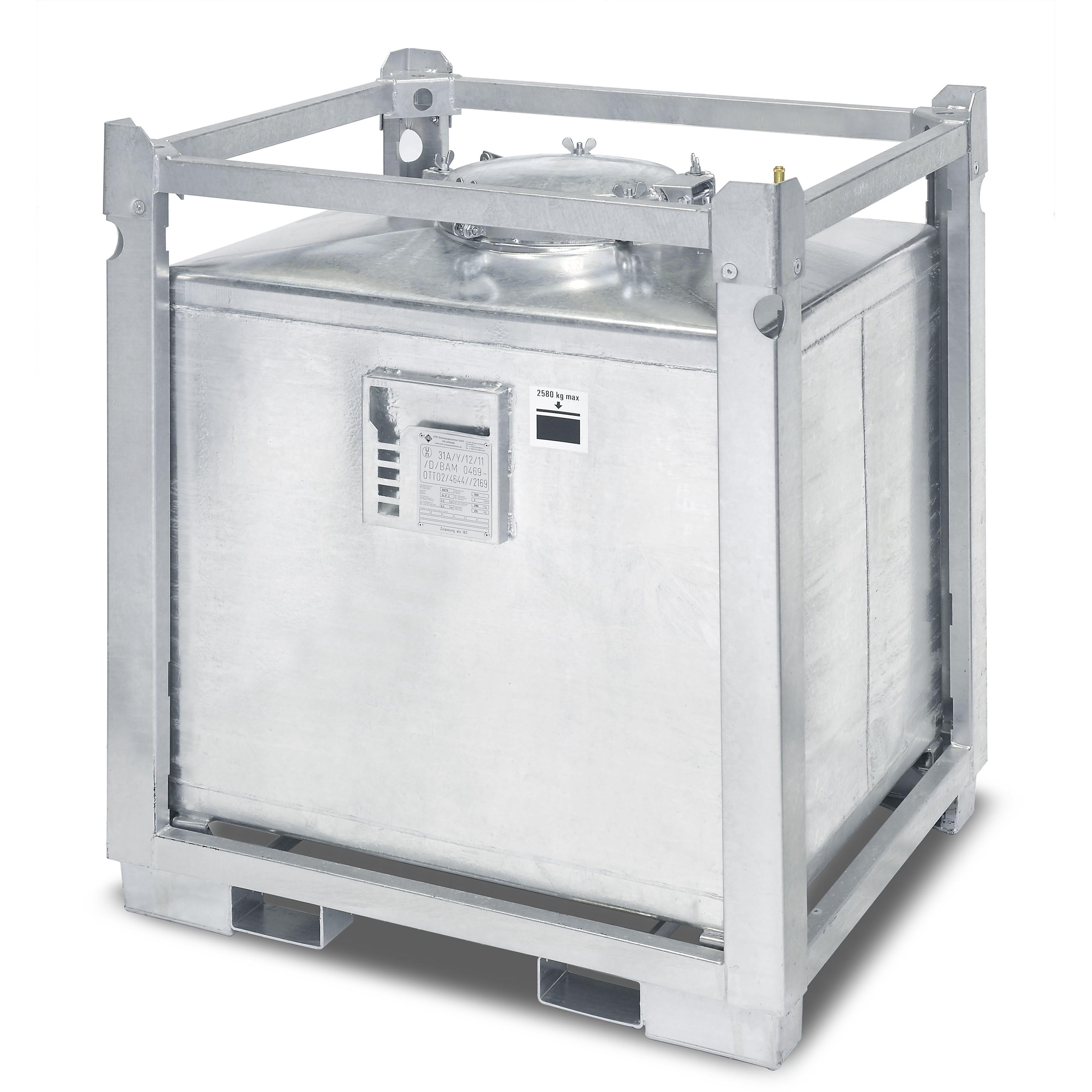asf beh lter einwandig inhalt 1000 liter bxtxh 1230x1030x1400 mm gewicht 255 kg asf. Black Bedroom Furniture Sets. Home Design Ideas