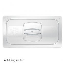 Auflagedeckel für Schale GN1/1, LxB 530x325 mm, Polycarbonat, glasklar, FG134P00CLR