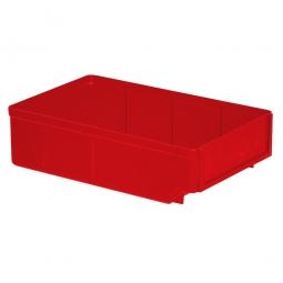 Regalkasten, rot, LxBxH 300x186x83 mm, Polystyrol-Kunststoff (PS), Gewicht 260 g