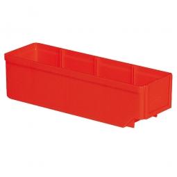 Regalkasten, rot, LxBxH 300x93x83 mm, Polystyrol-Kunststoff (PS), Gewicht 175 g