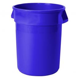 Mehrzweckbehälter, Inhalt 121 Liter, blau, ØxH 560x690 mm, Polyethylen-Kunststoff (PE), FG263200BLUE
