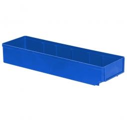 Regalkasten, blau, LxBxH 500x152x83 mm, Polystyrol-Kunststoff (PS), Gewicht 375 g