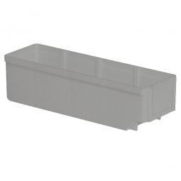 Regalkasten, grau, LxBxH 300x93x83 mm, Polystyrol-Kunststoff (PS), Gewicht 175 g