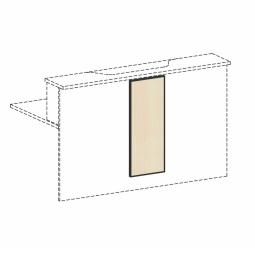 Empfangstheken-Blende, Ahorn, BxH 320x812 mm