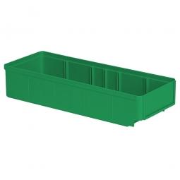 Regalkasten, grün, LxBxH 400x152x83 mm, Polystyrol-Kunststoff (PS), Gewicht 290 g