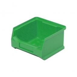 Sichtbox PROFI LB6, grün, Inhalt 0,3 Liter., LxBxH 100x100x60 mm, innen 75x85x55 mm.