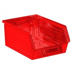 Sichtbox SB6 aus Stahlblech, 8,5 Liter, LxBxH 350/300 x 200 x 145 mm, rot