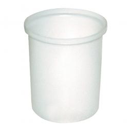 Auffangbehälter für Dosierbehälter, 80 Liter, natur-transparent