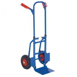 [B-Ware] - Zusammenschiebbare Stahl-Stapelkarre, HxBxT 1190x540x480 mm, Tragkraft 150 kg