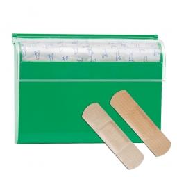 Pflasterspender, komplett mit 100 Pflasterstrips, BxL 19x72 mm, 50 Stück wasserfest und 50 Stück elastisch