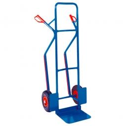 Stahl-Stapelkarre mit Vollgummireifen, HxBxT 1305x570x605 mm, Tragkraft 250 kg