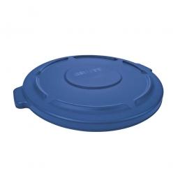 Deckel für runden Brute Container 121 Liter, blau