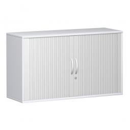 Querrollladenschrank PRO 2 Ordnerhöhen, weiß, BxHxT 1600x768x425 mm