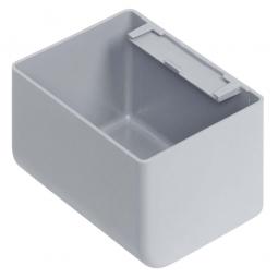 Einsatzkasten für Stapelbehälter 400x300 mm, LxBxH 89 x 64 x 55 mm, Farbe grau
