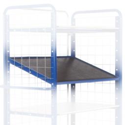 Einlegeboden für Ladefläche mit Winkeleisenrahmen, LxB 1600 x 800 mm