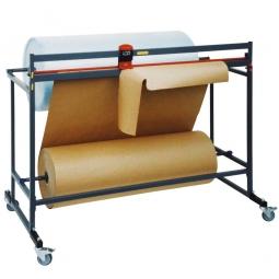 Doppel-Schneidständer, fahrbar,  BxTxH 1400x700x1250 mm, Schnittbreite 1250 mm