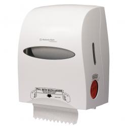 Rollenhandtuch-Spender, aus Kunststoff, weiß, HxBxT 420x320x250 mm
