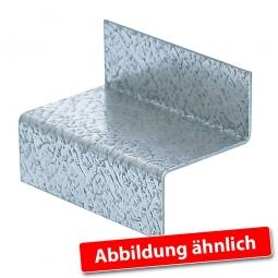 Platten- und Rosthalter für Tragbalkenbreite 45 mm, Hergestellt aus stabilem, glanzverzinktem Stahlprofil