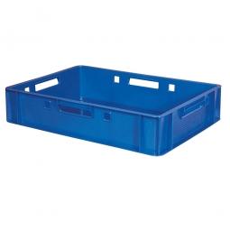 Untersetzbehälter/ Schlittenkasten, LxBxH 600 x 400 x 125 mm, blau