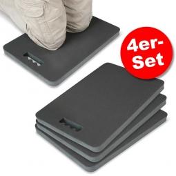 4er-Set Knieschutzmatten, LxBxH 480 x 320 x 33 mm, PVC-Nitril-Mischung, anthrazit