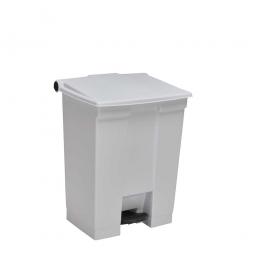 "Tret-Abfallbehälter ""Legacy Step-On"", 45 Liter, weiß, BxTxH 415 x 400 x 600 mm"