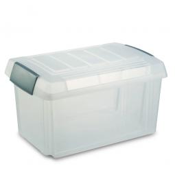 Ordner- und Hängemappenbox, Inhalt 60 Liter, LxBxH 615x405x330 mm, Polypropylen, VE=2 Stück