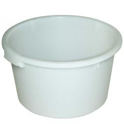 Rundbehälter, 85 Liter, Ø 635/510, Höhe 385 mm, weiß