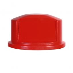 Kuppelaufsatz für Brute Container 121 Liter, rot