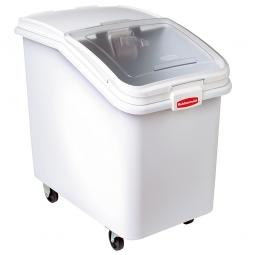 Zutaten-Container, Inhalt 116 Liter, 116 kg Zucker, weiß, LxBxH 755x445x710 mm, FG360388WHT