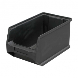 Sichtbox Profi LB4, leitfähige Ausführung, schwarz, LxBxH 235x145x125 mm, innen 195x125x115 mm