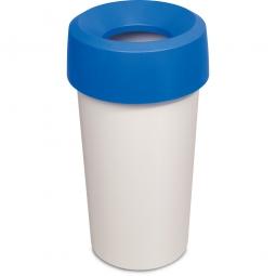 Wertstoffsammler, rund, ØxH 390 x 730 mm, 50 Liter, blau