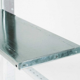 Fachboden für Kragarmregale, BxT 1300 x 400 mm, Tragkraft 100 kg