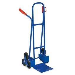 Treppenkarre aus Stahl, BxTxH 600 x 560 x 1210 mm, Tragkraft 175 kg