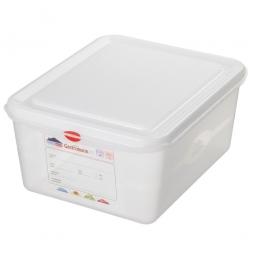 GN-Vorratsdose/Frischhaltebox GN1/1 mit Deckel, LxBxH 530 x 325 x 150 mm, 21 Liter