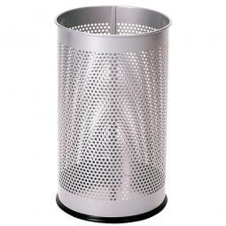Rund-Korb 15 Liter, silber, Stahl, HxØ 400x240 mm