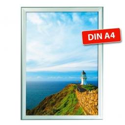 Wechselrahmen-Plakatrahmen, DIN A4, Plakatgröße BxH 210x297 mm, Rahmengröße BxH 240x327 mm