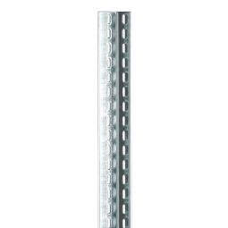 Winkelprofile 40 x 40 x 2,0 mm, glanzverzinkt, 3000 mm lang