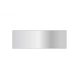 Schnellbau-Steck-Fachboden, glanzverzinkt, BxT 1200x400 mm, mit Verstärkungsunterzug