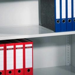 Einlegeboden für Schrankbreite 930 mm und Fachbodentiefe 500 mm, lichtgrau