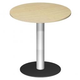 Rundtisch, Tischplatte Buche ØxH 900 x 1100 mm